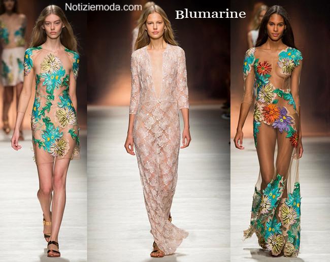 Estremamente Collezione Blumarine primavera estate 2015 moda donna MG19