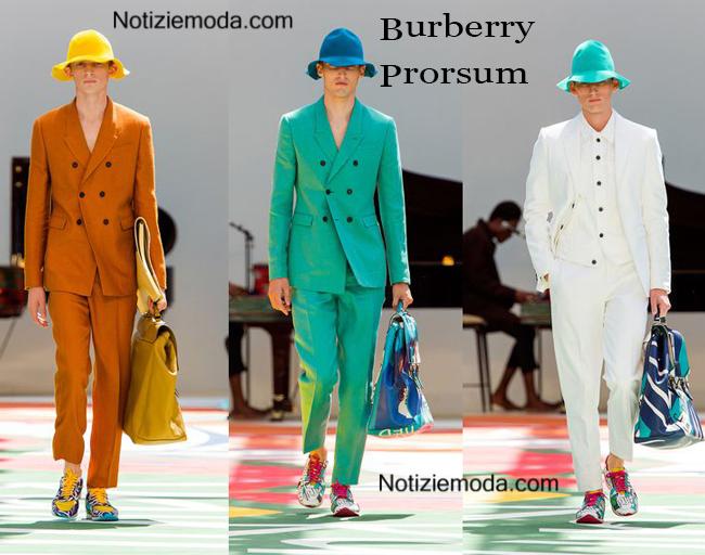 Abiti Burberry Prorsum primavera estate 2015 moda uomo