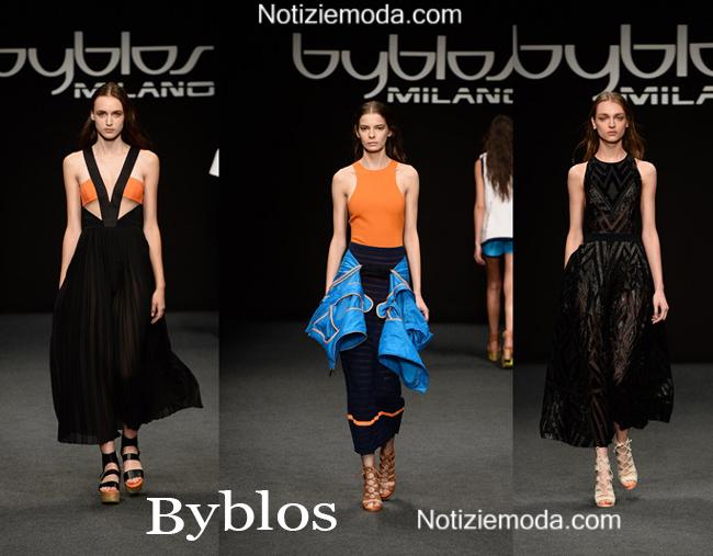 Abiti Byblos primavera estate 2015 moda donna