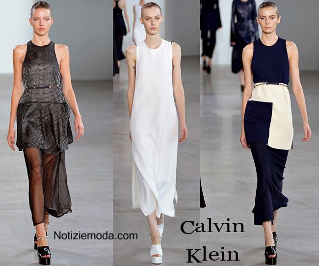 Abiti Calvin Klein primavera estate 2015 moda donna 75ac3697c85
