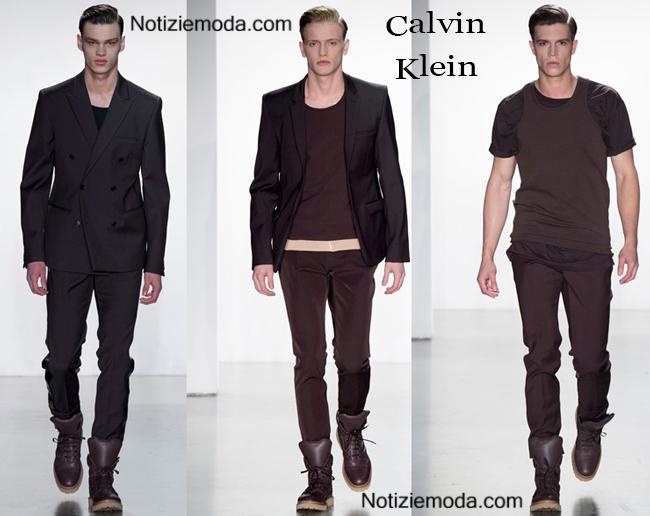 Abiti Calvin Klein primavera estate 2015 moda uomo