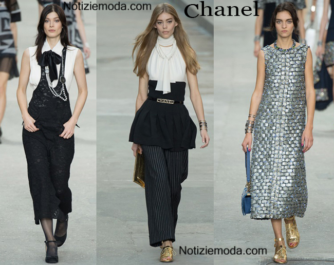 Abiti Chanel primavera estate 2015 moda donna