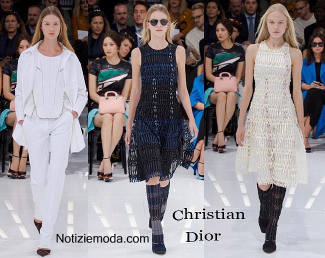 Abiti Christian Dior primavera estate 2015 moda donna
