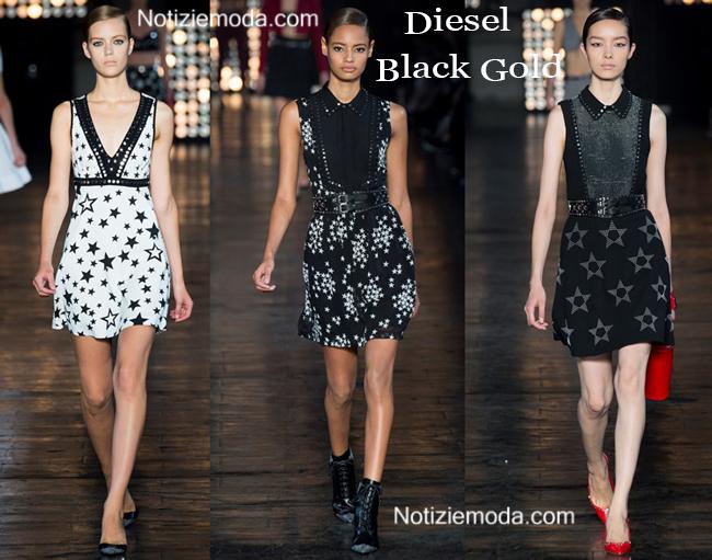 Abiti Diesel Black Gold primavera estate 2015 moda donna