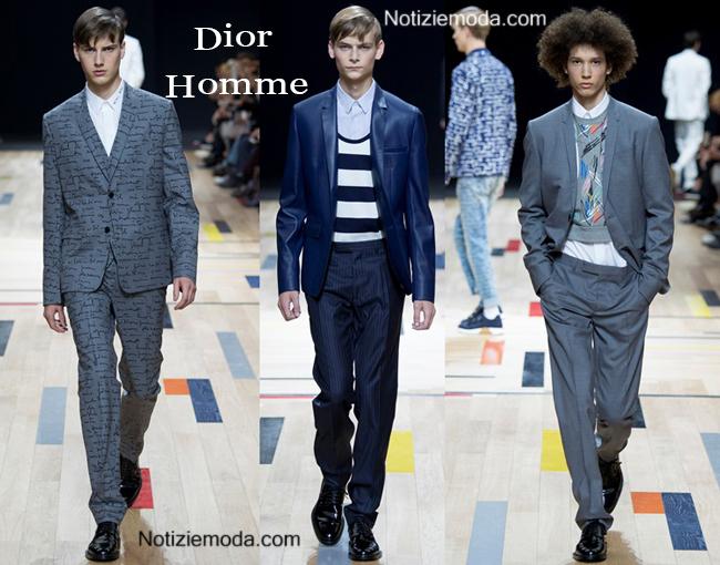 Abiti Dior Homme primavera estate 2015 moda uomo