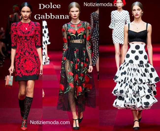 Abiti Dolce Gabbana primavera estate 2015 moda donna