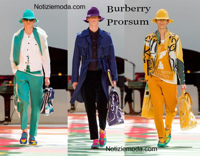 Accessori Burberry Prorsum primavera estate 2015