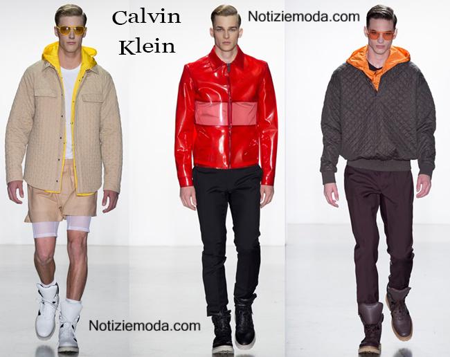 Accessori Calvin Klein primavera estate 2015