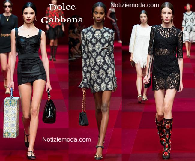 Accessori Dolce Gabbana primavera estate 2015