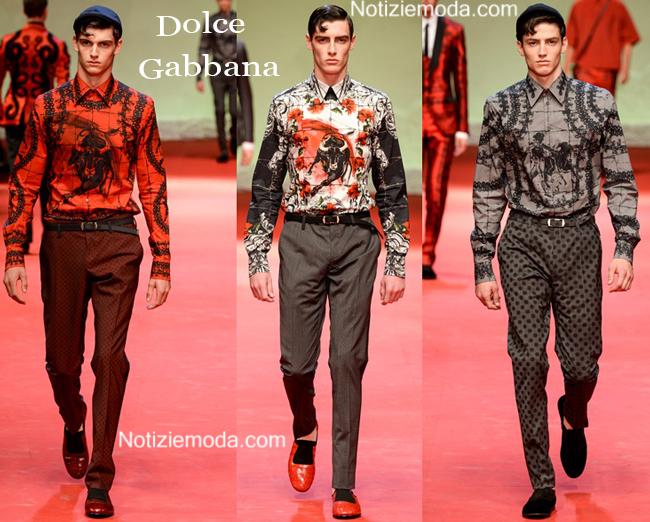 Camicie Dolce Gabbana primavera estate 2015 uomo