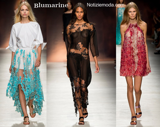Collezione Blumarine primavera estate 2015