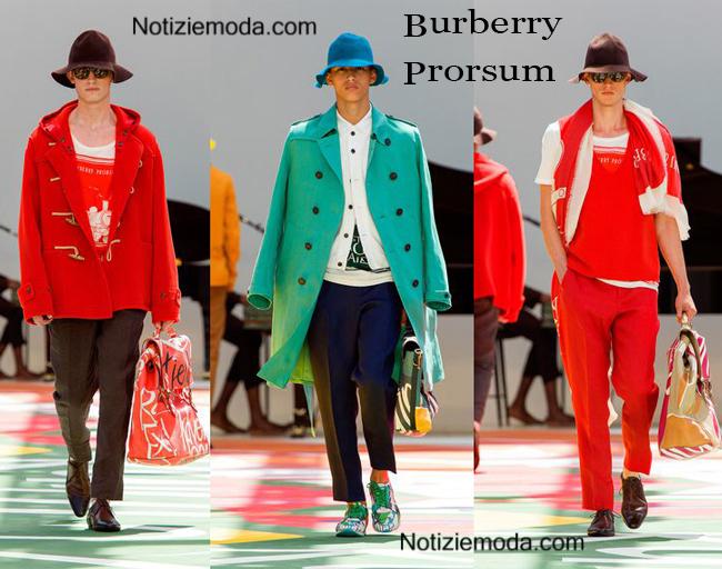 Collezione Burberry Prorsum primavera estate 2015
