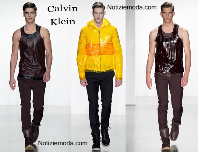 Collezione Calvin Klein primavera estate 2015