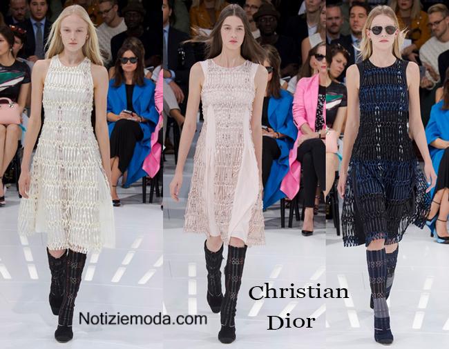 Collezione Christian Dior primavera estate 2015
