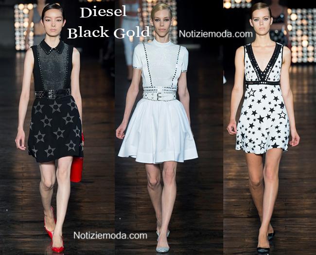 Collezione Diesel Black Gold primavera estate 2015