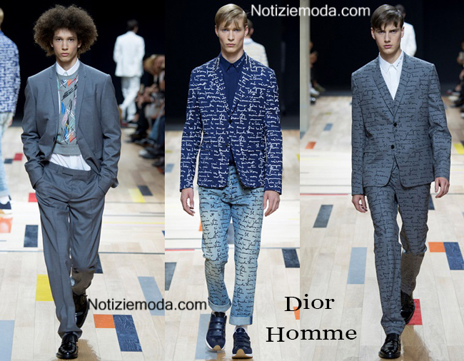 Collezione Dior Homme primavera estate 2015