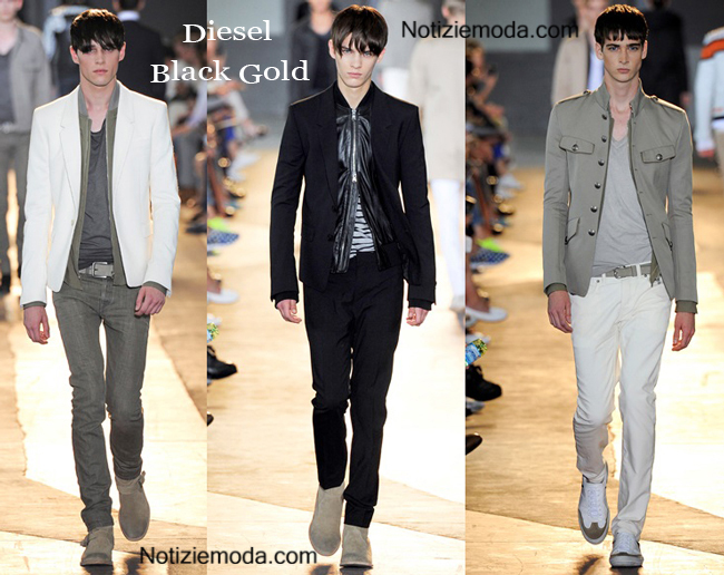 Look Diesel Black Gold primavera estate 2015 uomo