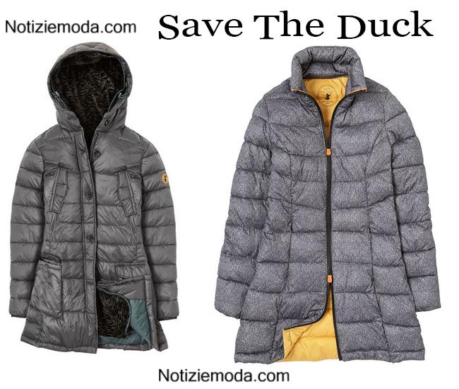 Piumini lunghi Save The Duck autunno inverno donna