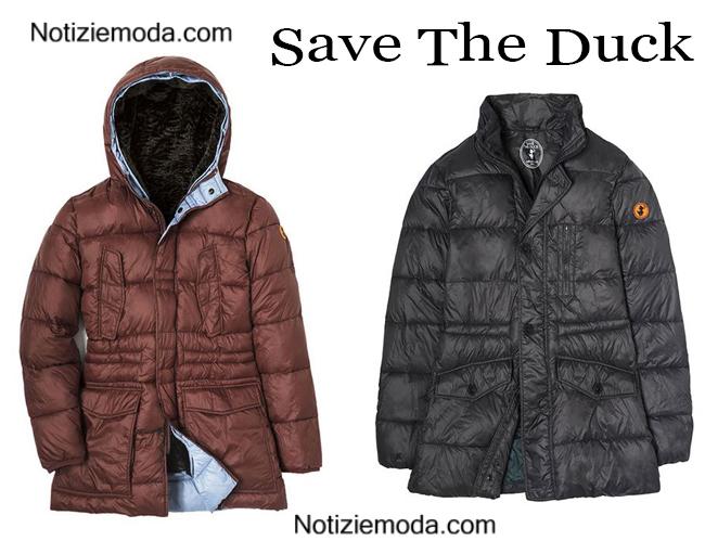Piumini lunghi Save The Duck autunno inverno uomo