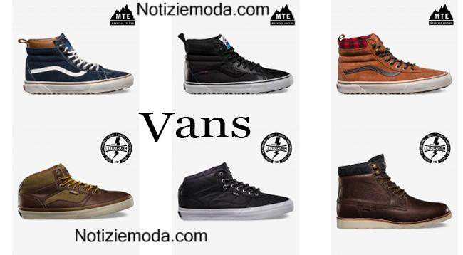 scarpe uomo inverno vans