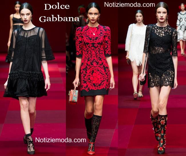 Stile Dolce Gabbana primavera estate 2015