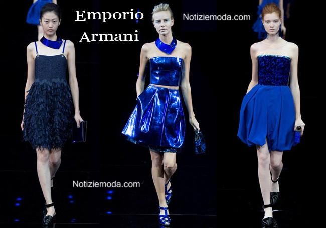 Abiti Emporio Armani primavera estate moda donna