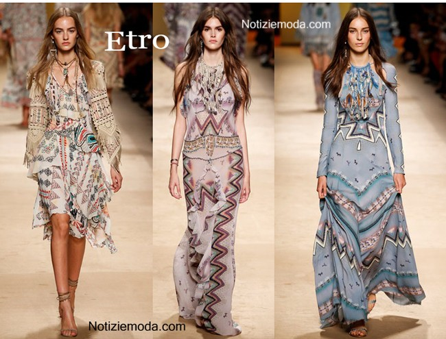 finest selection 349fb 27c91 Collezione Etro primavera estate 2015 moda donna