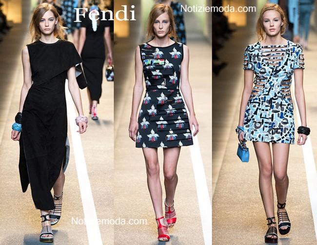 Abiti Fendi primavera estate moda donna