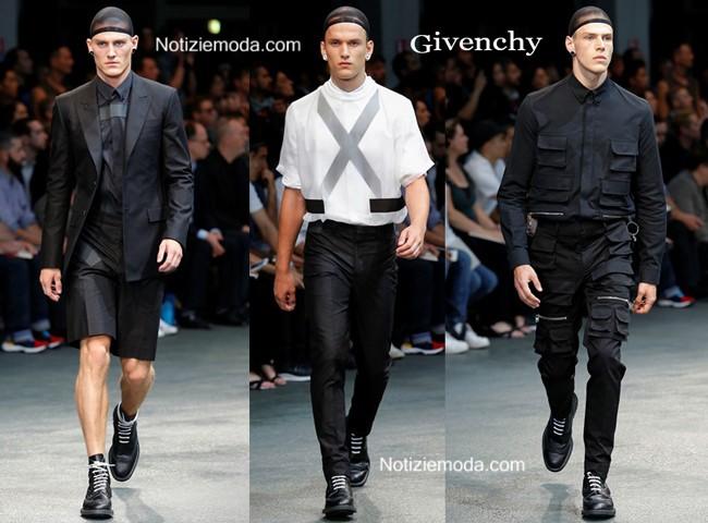 Abiti Givenchy primavera estate moda uomo