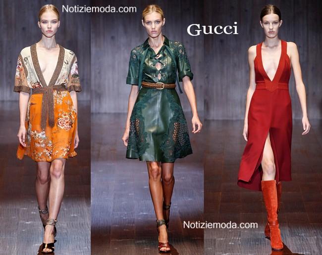 Abiti Gucci primavera estate moda donna