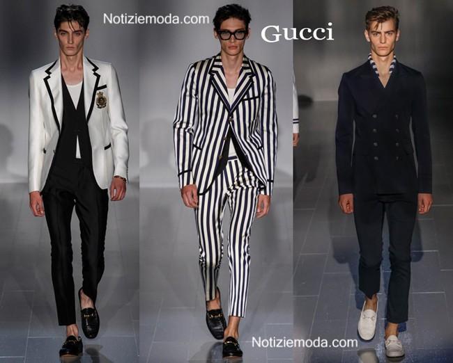 Abiti Gucci primavera estate moda uomo