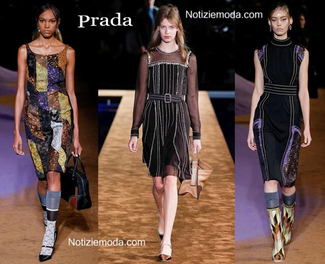 Abiti Prada primavera estate moda donna