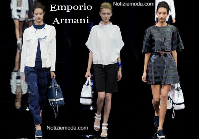 Accessori Emporio Armani primavera estate donna