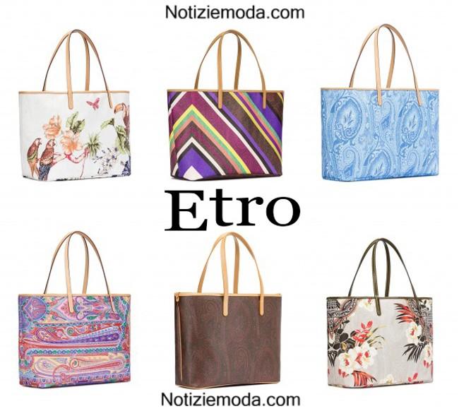 Accessori Etro borse primavera estate donna