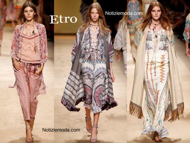 finest selection 451f0 5c7a2 Collezione Etro primavera estate 2015 moda donna