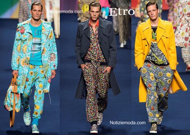 size 40 4f258 c2012 Collezione Etro primavera estate 2015 moda uomo