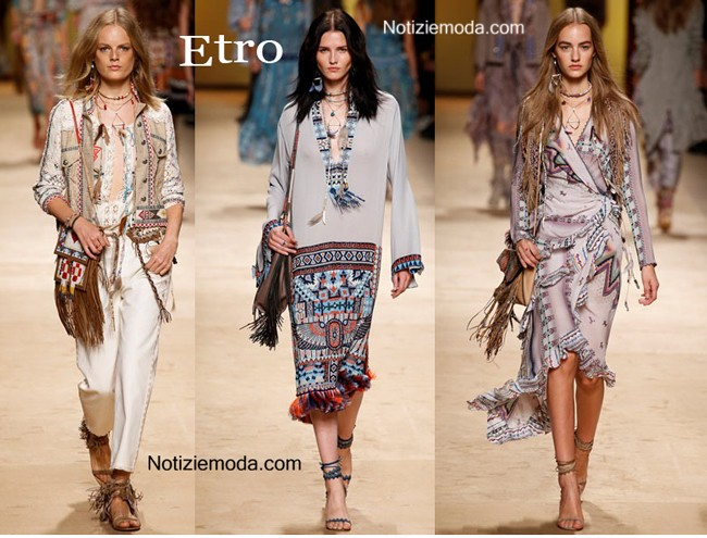 finest selection 38746 64147 Collezione Etro primavera estate 2015 moda donna
