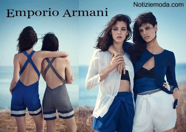 Campagna Emporio Armani primavera estate