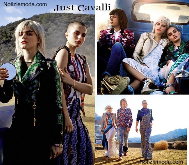 Campagna Just Cavalli primavera estate