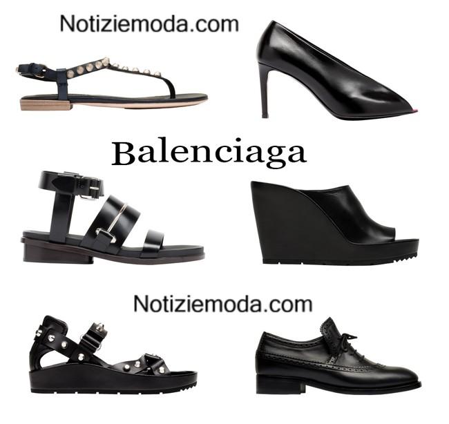 Collezione Balenciaga primavera estate moda donna