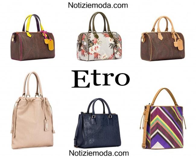 sale retailer 1cb1d d65ac Borse Etro primavera estate 2015 moda donna