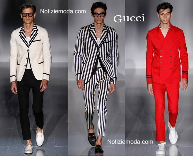 Collezione Gucci primavera estate uomo