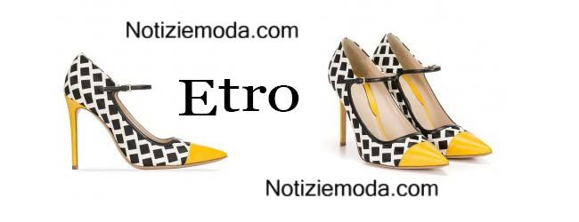 promo code 33562 21d42 Scarpe Etro primavera estate 2015 moda donna