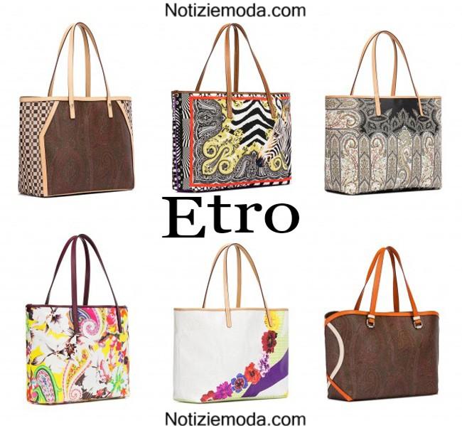 Handbags Etro primavera estate donna