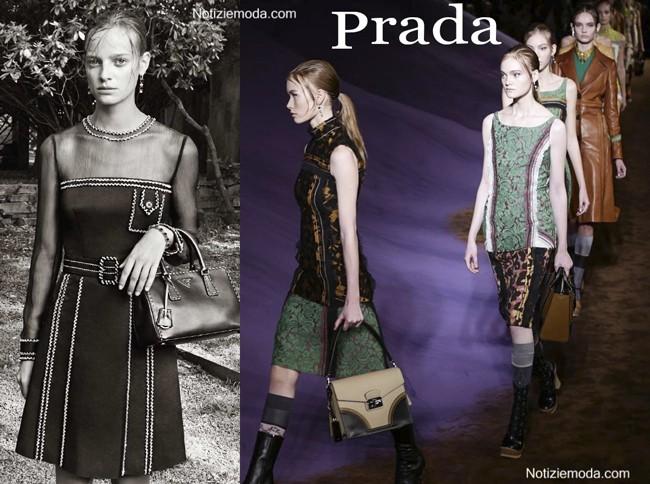 Look Prada primavera estate donna
