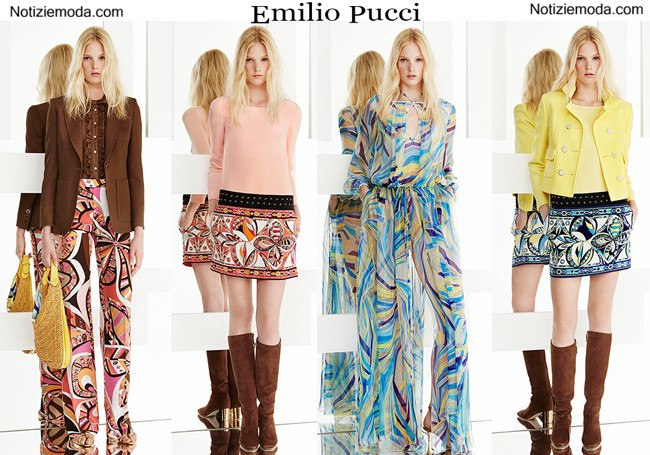 Lookbook Emilio Pucci primavera estate donna
