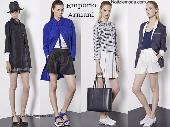 Lookbook Emporio Armani primavera estate donna
