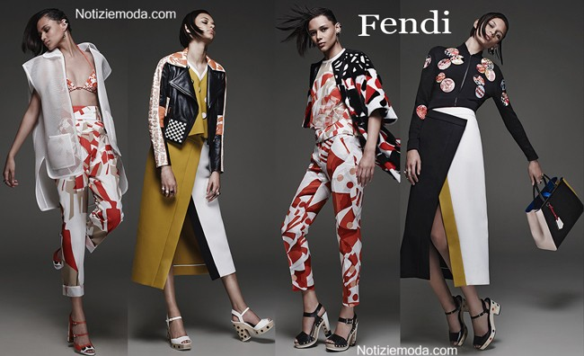 Lookbook Fendi primavera estate donna