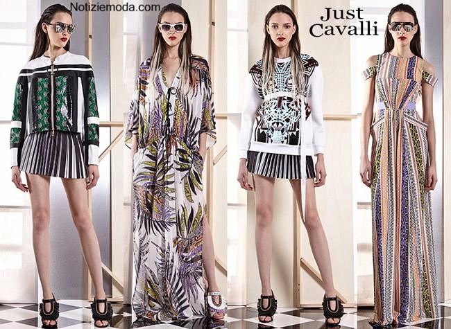 Lookbook Just Cavalli primavera estate donna