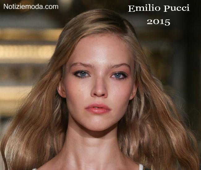 Makeup Emilio Pucci primavera estate moda donna